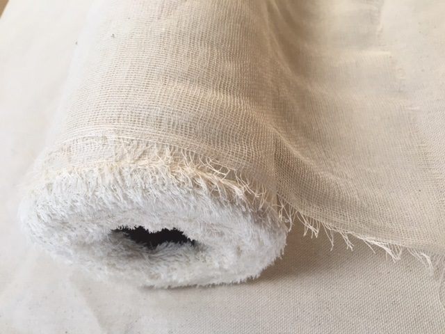 "Grade 20 Unbleached Cheesecloth 100 Yard Roll 36"" Wide"
